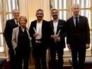 UniFrance décerne un French Cinema Award à Eric Toledano et Olivier Nakache