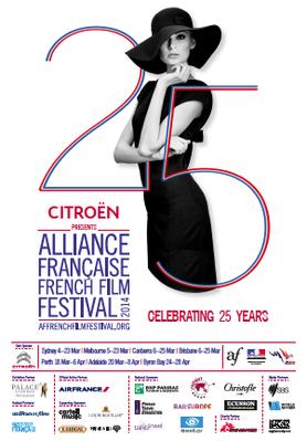 Festival de Cine Francés de la Alianza Francesa (Australia) - 2014