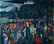 La Vie mélangée, 1907, Vassily Kandinsky