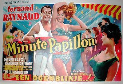 Minute papillon - Poster Belgique