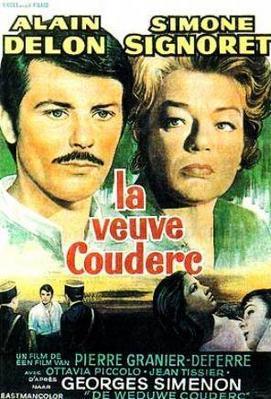 La Veuve Couderc - Poster Belgique