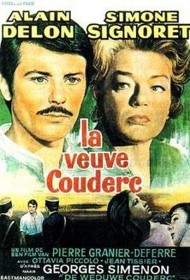 The Widow Couderc - Poster Belgique