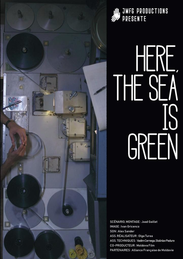Ici, la mer est verte