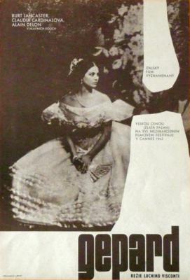 Le Guépard - Poster - Tchécoslovaquie