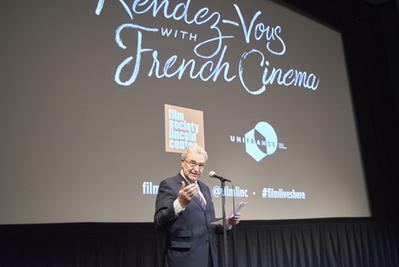 Succès historique pour l'édition 2018 des Rendez Vous with French Cinema in New York - Serge Toubiana à l'ouverture des Rendez-Vous - © @Jean-Baptiste Le Mercier/UniFrance