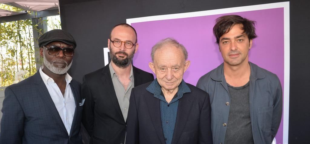 Première édition du International Students Award UniFrance/France Culture à Cannes - Eriq Ebouaney (acteur de