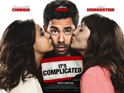"""""""Situation amoureuse : c'est compliqué"""" - Poster - Royaume-Uni"""