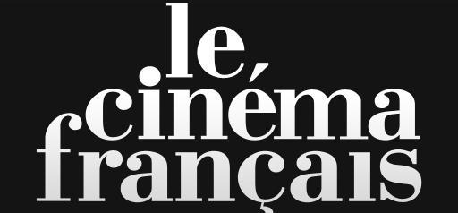 """""""Le Cinéma français"""" sur Smartphone Androïd Widescreen"""
