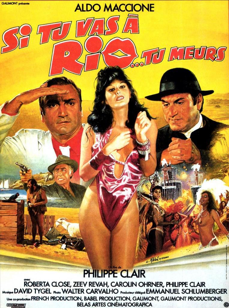 Si tu vas à Rio, tu meurs