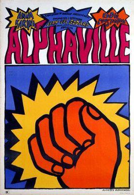 Alphaville - Poster Pologne