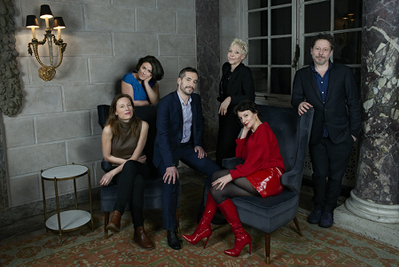 Record-breaking success for the 2018 edition of the Rendez-Vous with French Cinema in New York - Marine Francen, Julie Roué, Xavier Legrand, Tonie Marshall, Jeanne Balibar, Mathieu Amalric - © @Jean-Baptiste Le Mercier/UniFrance