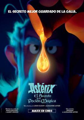 Astérix: The Secret of the Magic Potion - Poster - Spain