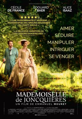 Mademoiselle de Joncquières - Poster - Quebec