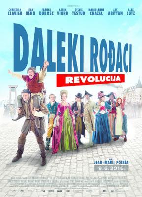 Les Visiteurs : La Révolution - Poster - Croatia