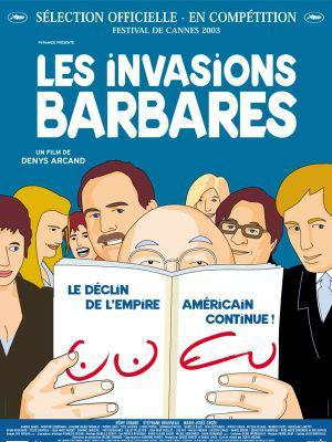 Les Invasions barbares - Poster - France