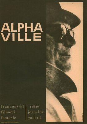 Alphaville - Poster République tchèque
