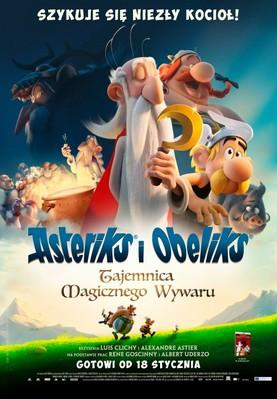 Astérix: The Secret of the Magic Potion - Poster - Poland