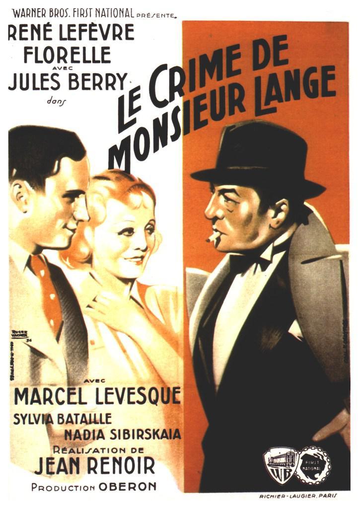 El Crimen de Monsieur Lange