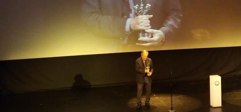 Costa-Gavras receives a Donostia Award at the San Sebastián Film Festival