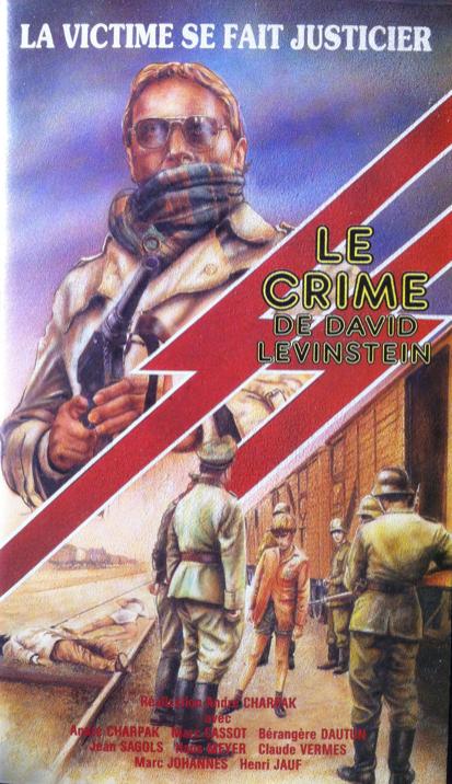 Le Crime de David Levinstein - Jaquette VHS France