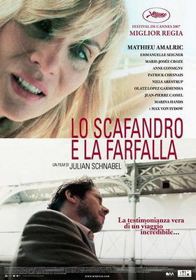 Le Scaphandre et le papillon - Affiche-Italie