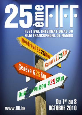 Festival international du film francophone de Namur  - 2010
