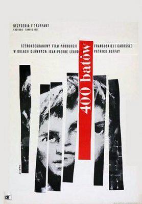 Los 400 Golpes - Poster Pologne