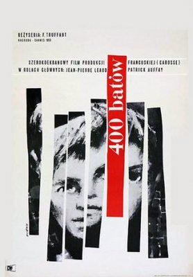 The 400 Blows - Poster Pologne