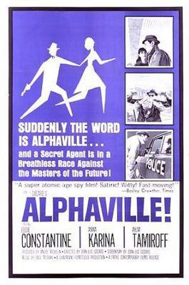 Alphaville - Poster Etats-Unis