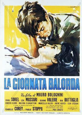 La giornata balorda - Poster - Italy