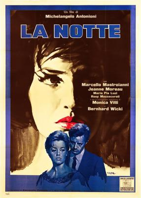 La Notte (La Nuit) - Poster - Italy