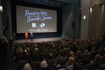 Record-breaking success for the 2018 edition of the Rendez-Vous with French Cinema in New York - Ouverture des Rendez-vous avec - © @Jean-Baptiste Le Mercier/UniFrance