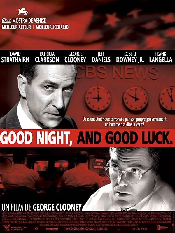 good night and good luck essays (2005 still of george clooney in good night, and good luck (2005) still of  george clooney and david strathairn in good night, and good luck ( add  image.