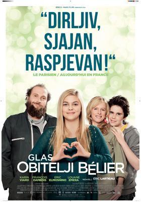 La Famille Bélier - Poster - Croatia