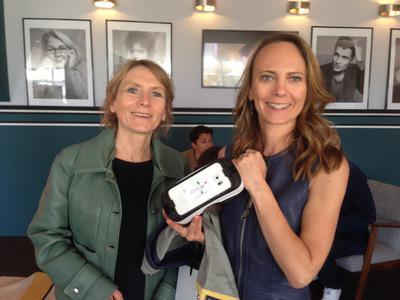 UniFrance et la réalité virtuelle au Festival de Cannes - Delphine et Muriel Coulin