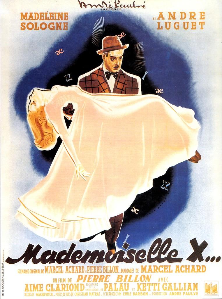 Mademoiselle X...