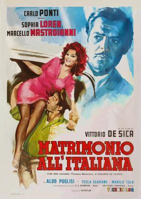 Matrimonio a la italiana - Poster - Italie