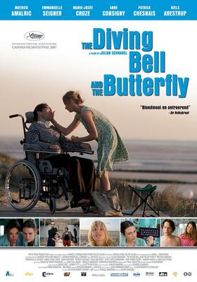 The Diving Bell and the Butterfly - Affiche_Pays-Bas