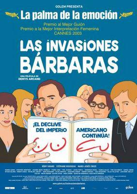 Les Invasions barbares - Poster - Spain