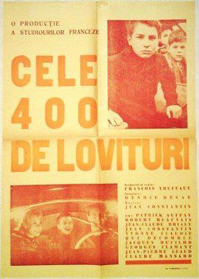 Les Quatre Cents Coups - Poster Roumanie