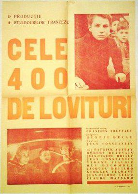 Los 400 Golpes - Poster Roumanie
