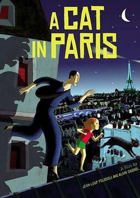 Un gato en París - Poster - USA
