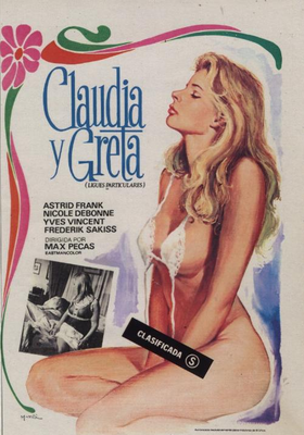 Claude et Greta (Les liaisons particulières) - Poster Espagne