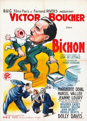 Bichon - Poster Belgique
