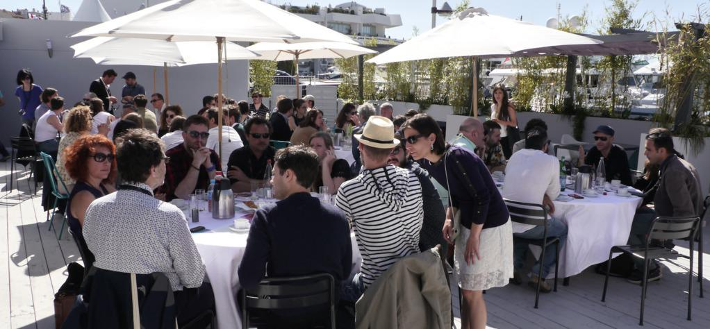 Short film networking at Cannes with UniFrance