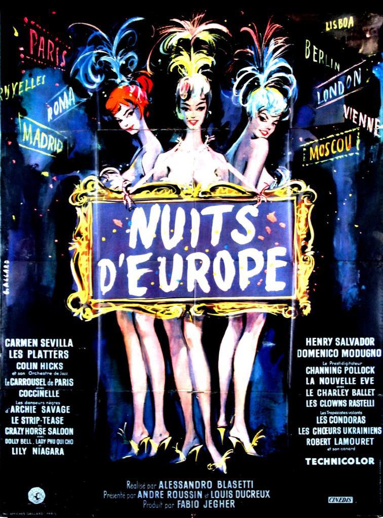 Risultati immagini per Europa di Notte blasetti