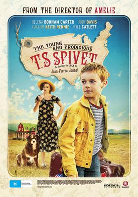 The Young and Prodigious Spivet - Poster - Australia