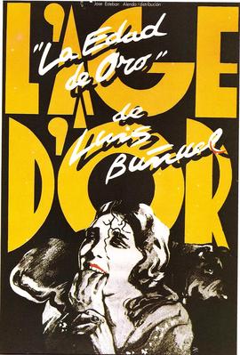 L'Âge d'or - Poster Espagne