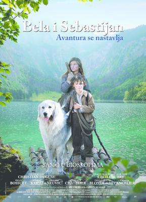 Belle et Sébastien, l'aventure continue - Poster - Serbia