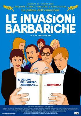 The Barbarian Invasions - Poster - Italy
